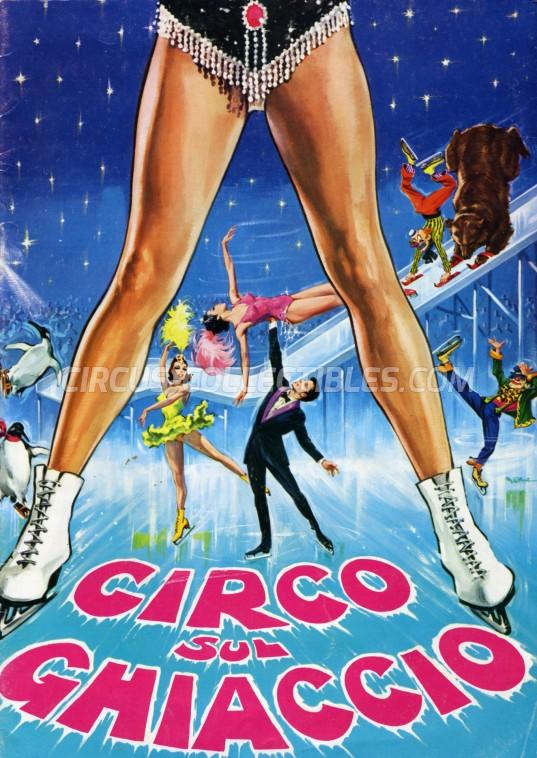 Moira Orfei Circus Program - Italy, 1970