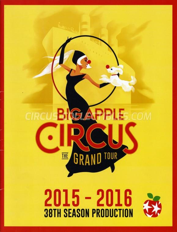 Big Apple Circus Circus Program - USA, 2015
