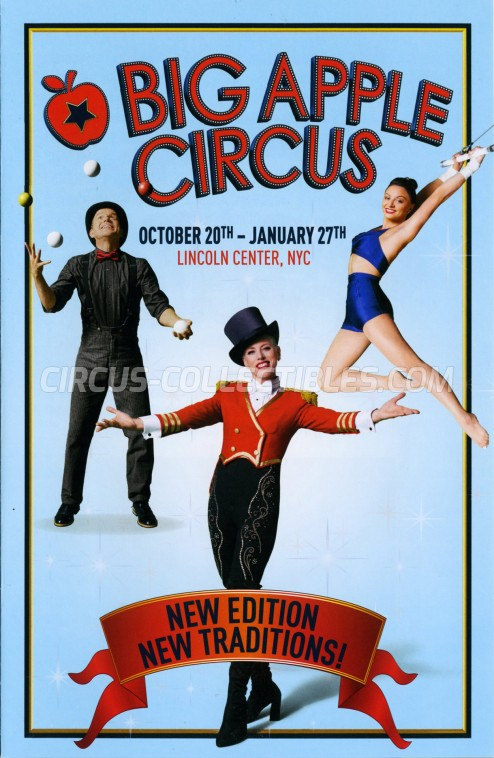 Big Apple Circus Circus Program - USA, 2018