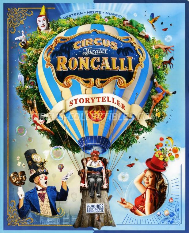 Roncalli Circus Program - Germany, 2018