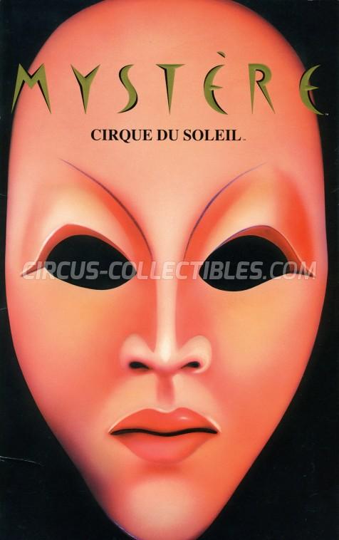 Cirque du Soleil Circus Program - Canada, 1996