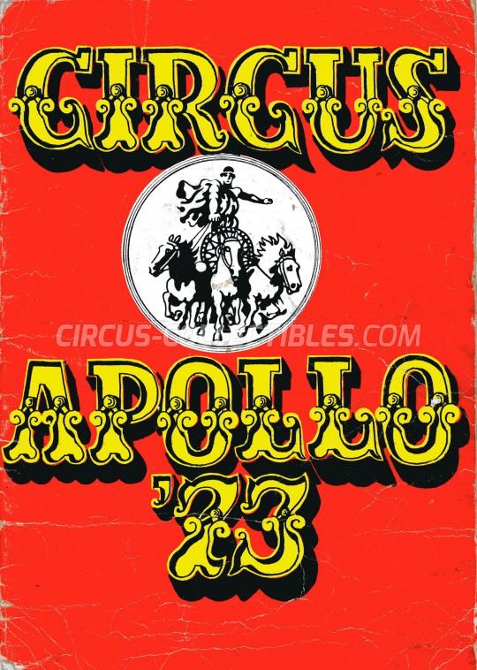 Apollo  Circus Program - Hungary, 1973