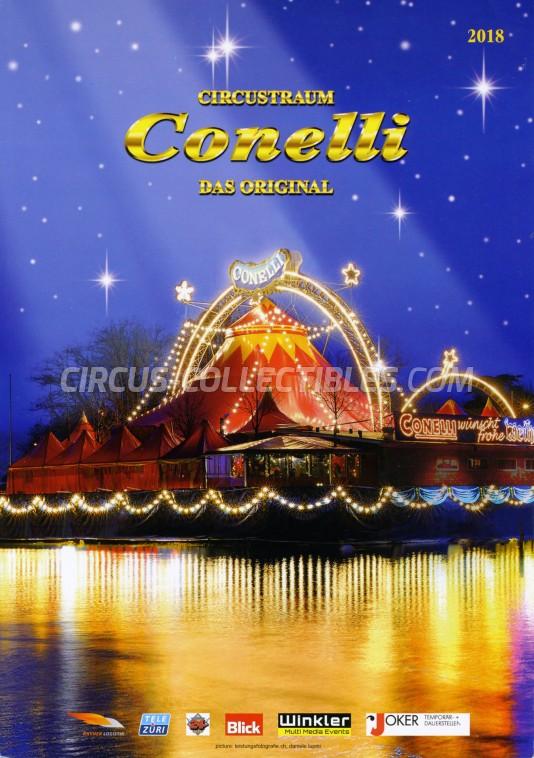 Conelli Circus Program - Switzerland, 2018
