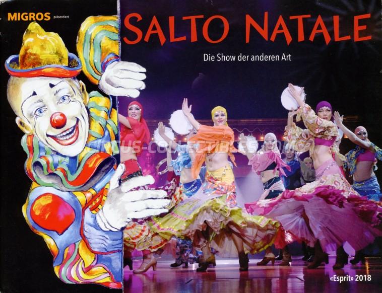 Salto Natale Circus Program - Switzerland, 2018