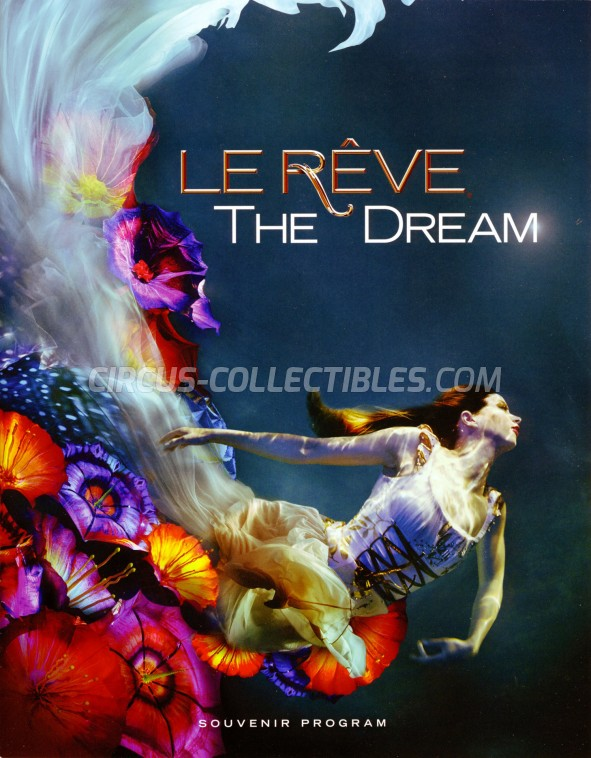 Le Rêve (The Dream) Circus Program - USA, 2019