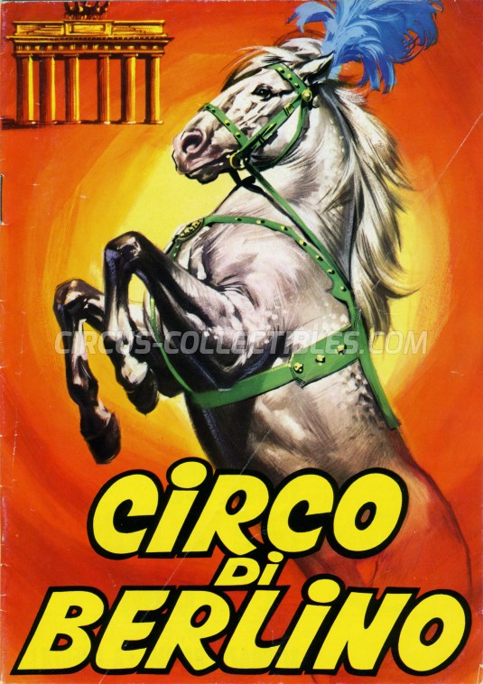 Circo di Berlino Circus Program - Italy, 1966