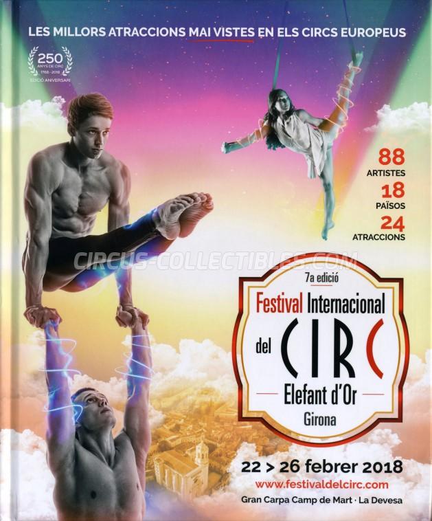 Festival International del Circ de Figueres Circus Program - Spain, 2018
