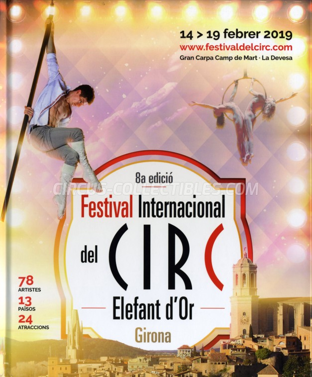 Festival International del Circ de Figueres Circus Program - Spain, 2019