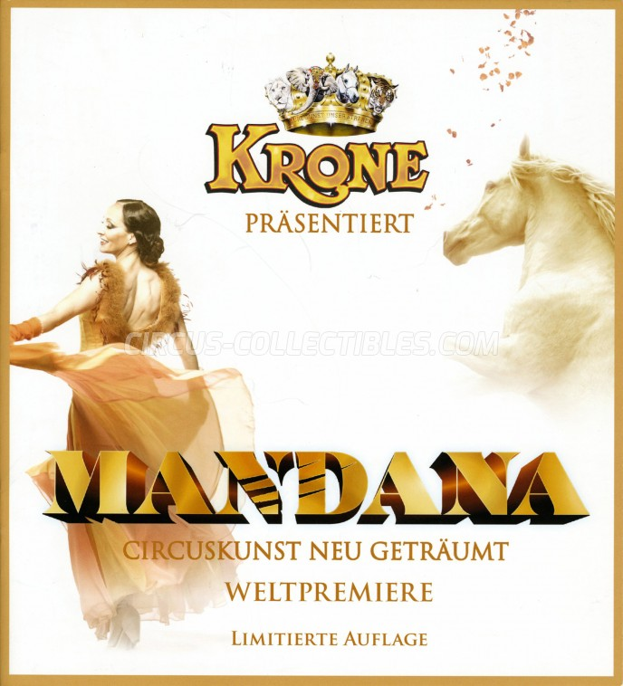 Krone Circus Program - Germany, 2019