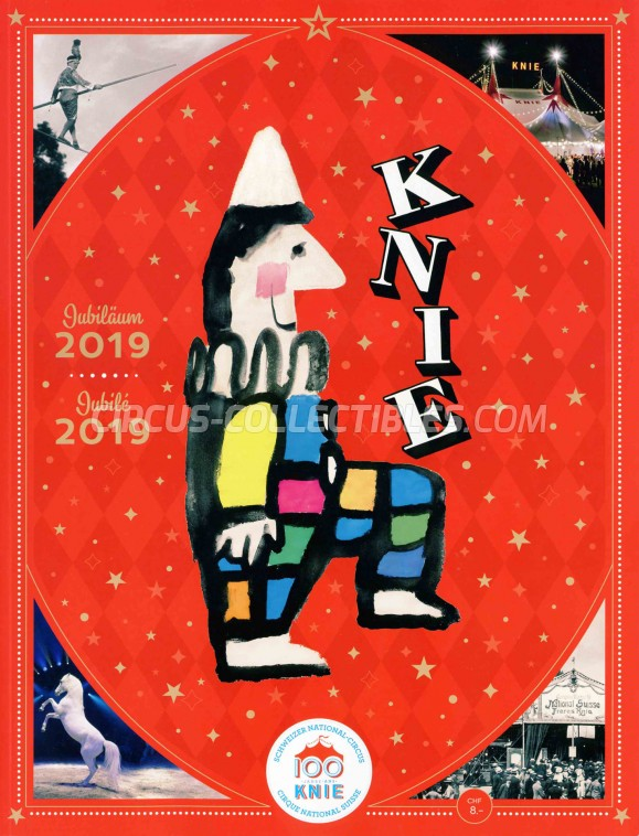Knie Circus Program - Switzerland, 2019