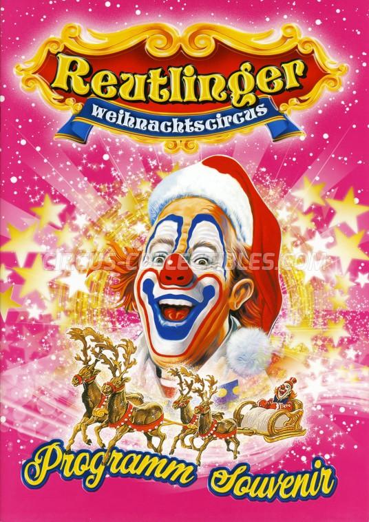 Reutlinger Weihnachtscircus Circus Program - Germany, 2017