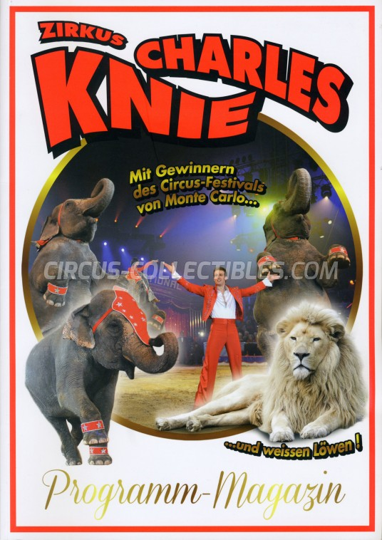 Charles Knie Circus Program - Germany, 2014