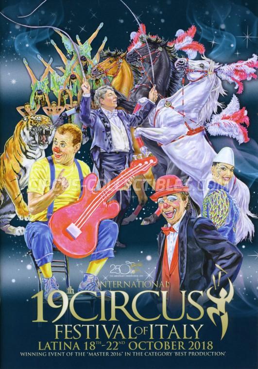 Festival Internazionale del Circo Città di Latina Circus Program - Italy, 2018