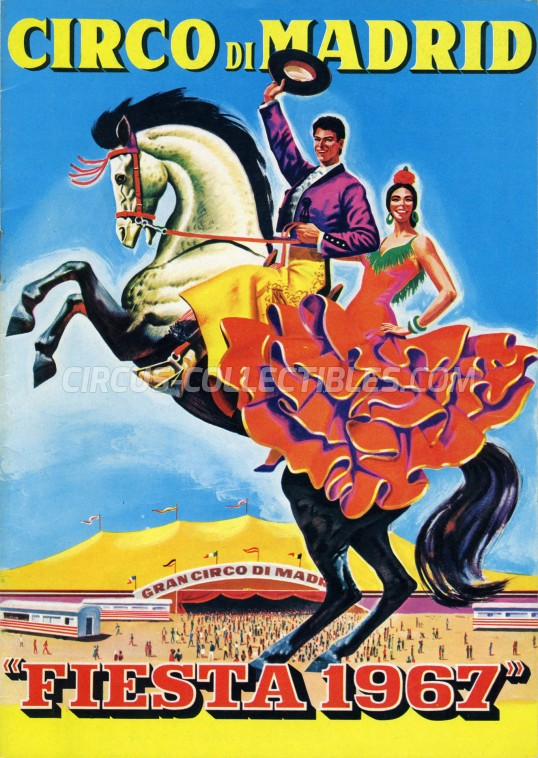 Circo di Madrid Circus Program - Italy, 1967