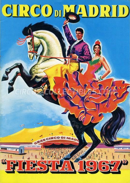 Circo di Madrid Circus Program - Italy, 1967
