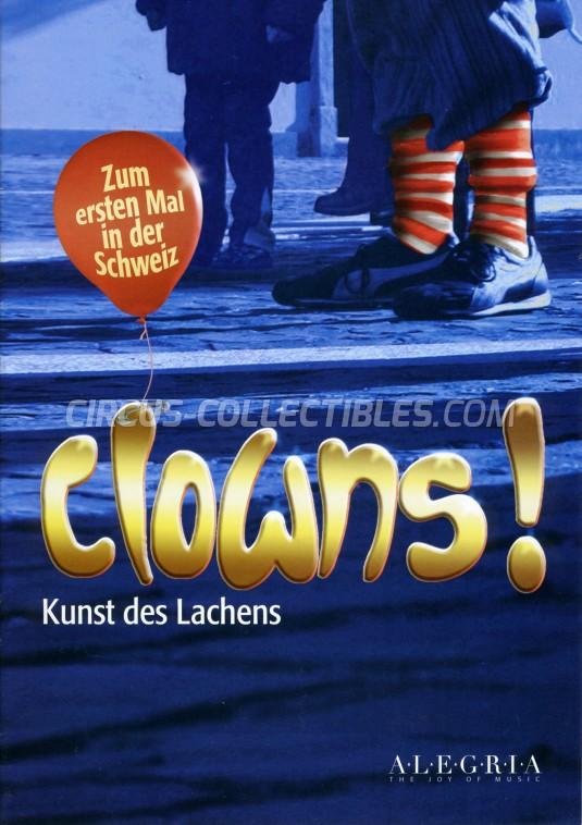 Clowns Circus Program - Switzerland, 2019