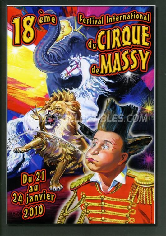 Festival International du Cirque de Massy Circus Program - France, 2010