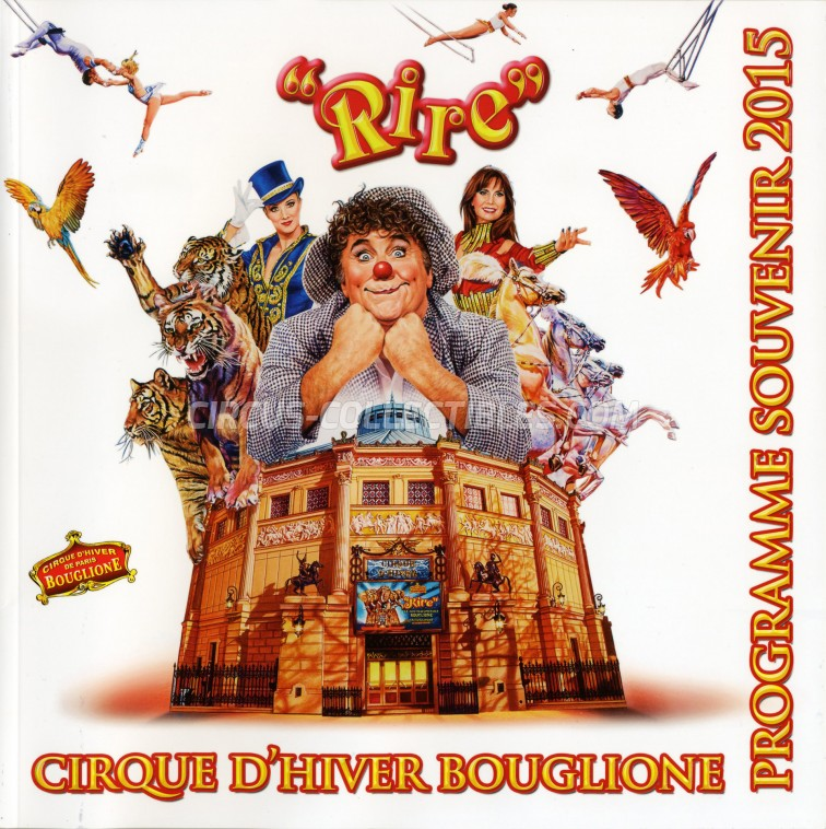 Bouglione Circus Program - France, 2015