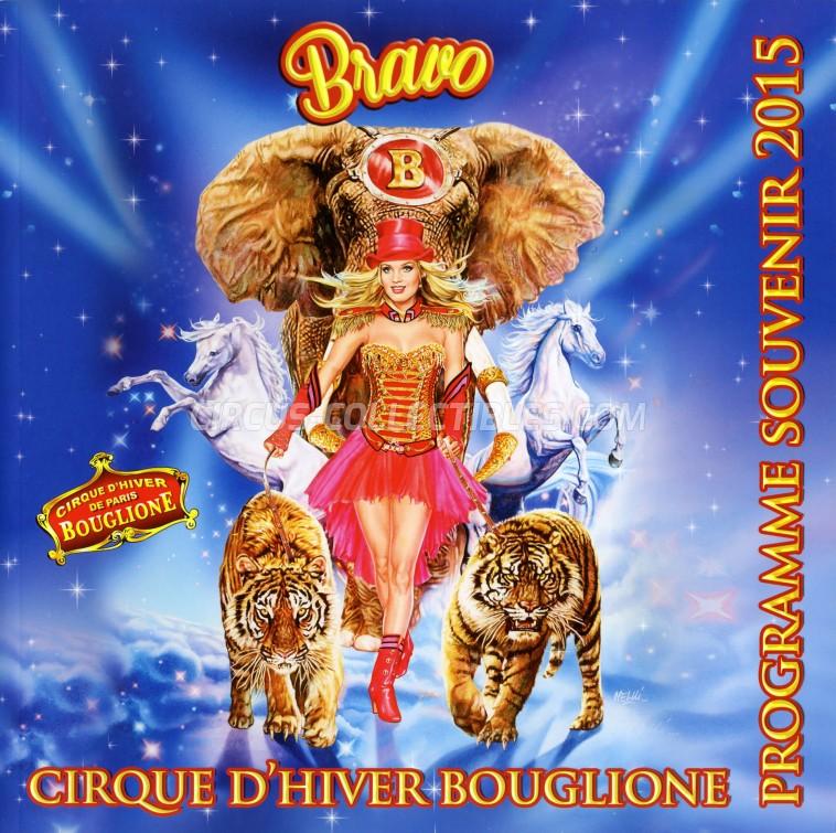 Bouglione Circus Program - France, 2015