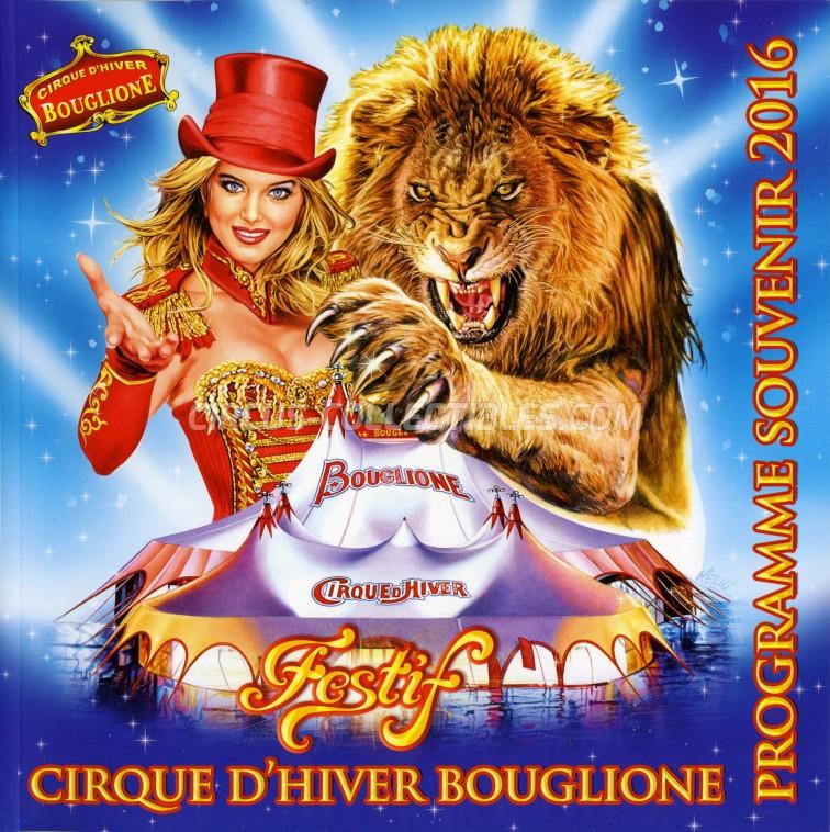 Bouglione Circus Program - France, 2016