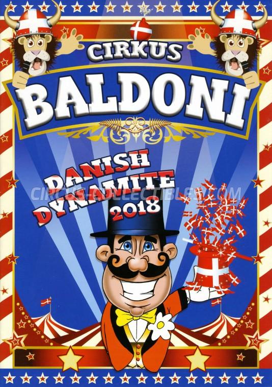 Baldoni Circus Program - Denmark, 2018