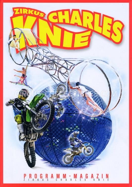 Charles Knie Circus Program - Germany, 2019
