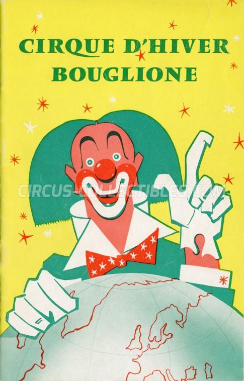Bouglione Circus Program - France, 1960