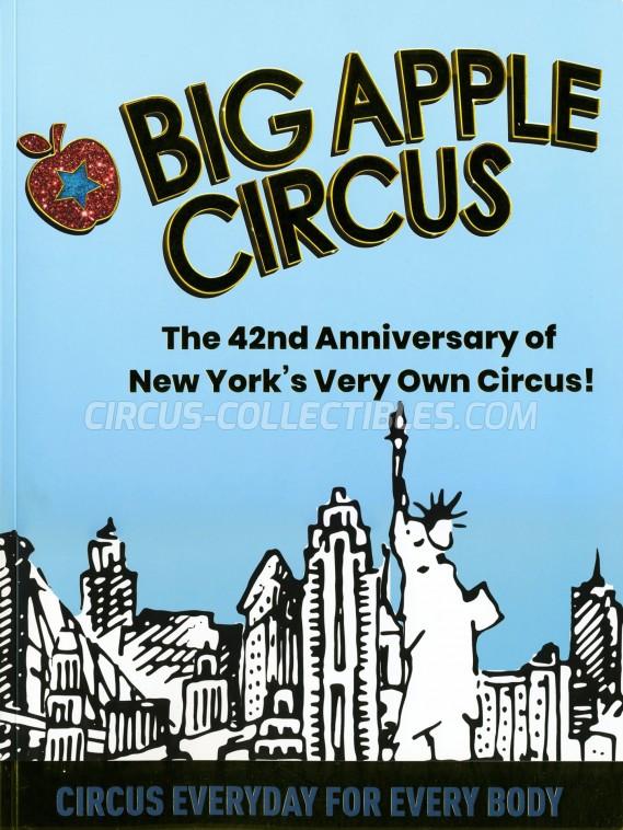 Big Apple Circus Circus Program - USA, 2019