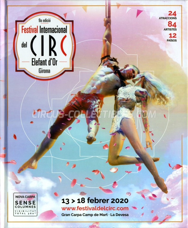 Festival International del Circ de Figueres Circus Program - Spain, 2020