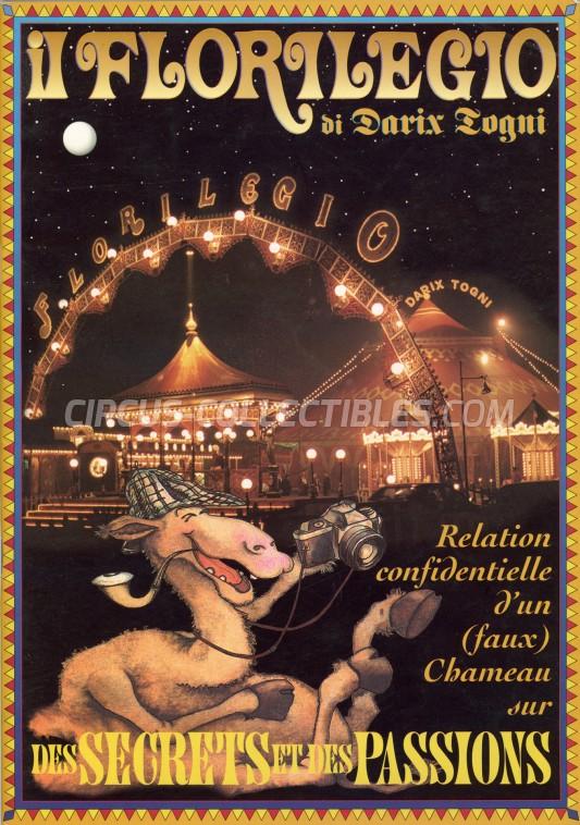 Darix Togni Circus Program - Italy, 1998