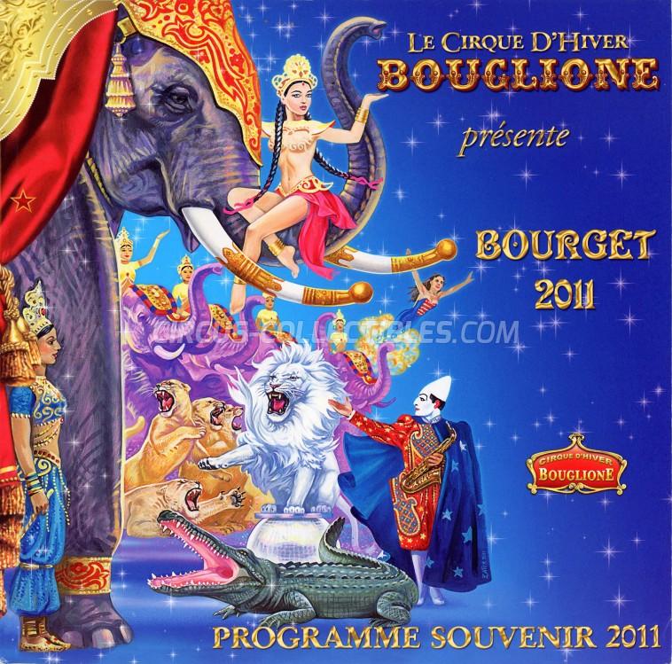 Bouglione Circus Program - France, 2011