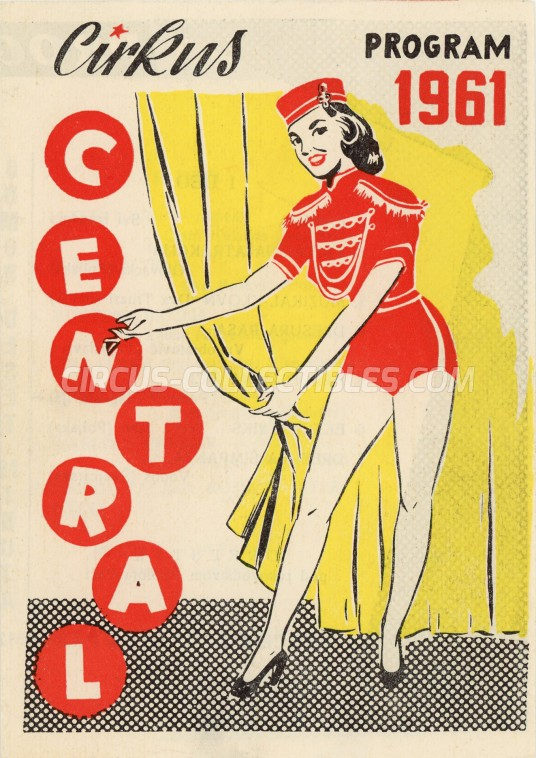 Central Circus Program - Serbia, 1961