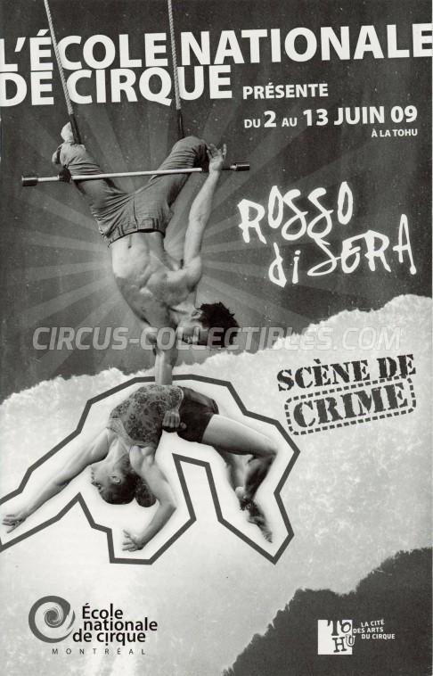 L'École Nationale de Cirque Circus Program - Canada, 2009