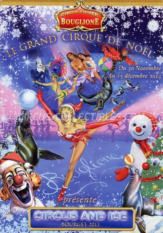 Bouglione Circus Program - France, 2013
