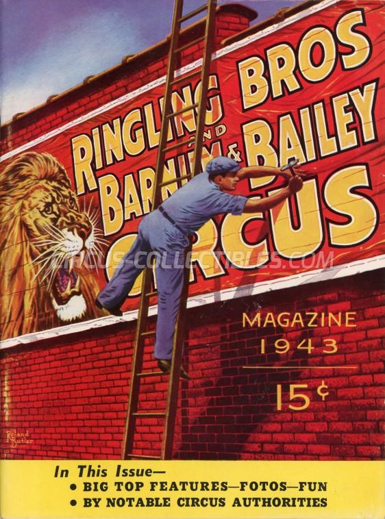 Ringling Bros. and Barnum & Bailey Circus Circus Program - USA, 1943