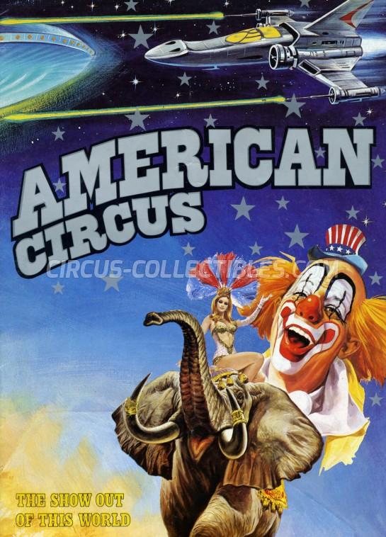 American Circus Circus Program - Italy, 1989