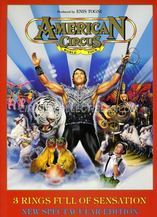 American Circus Circus Program - Italy, 1997