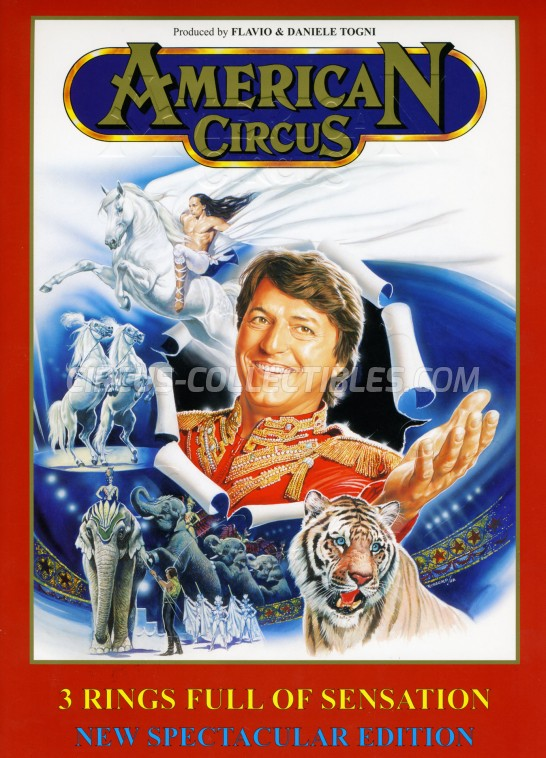 American Circus Circus Program - Italy, 2003