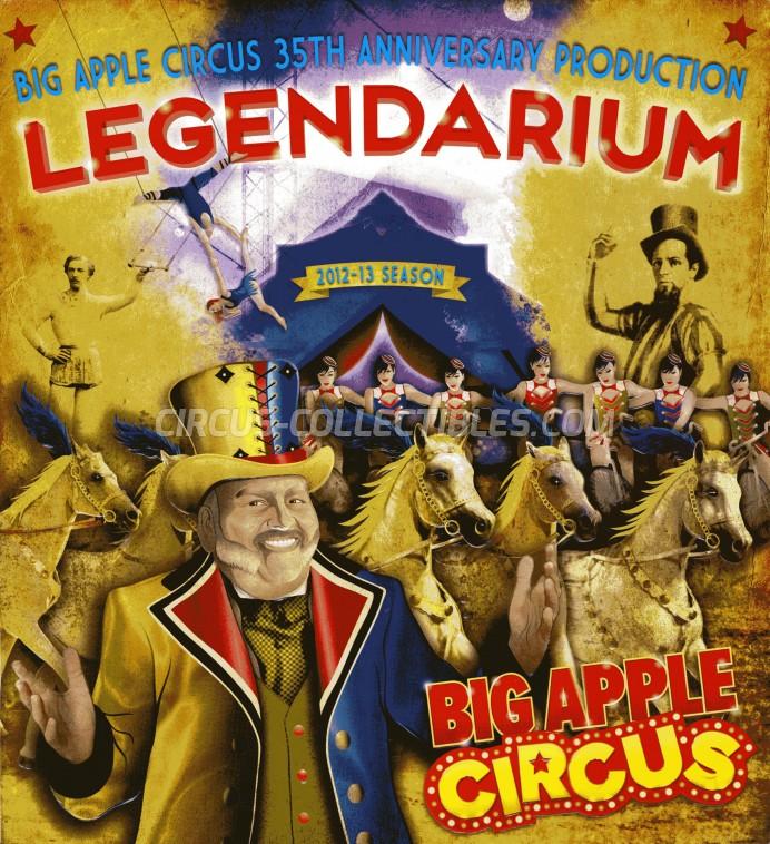 Big Apple Circus Circus Program - USA, 2012