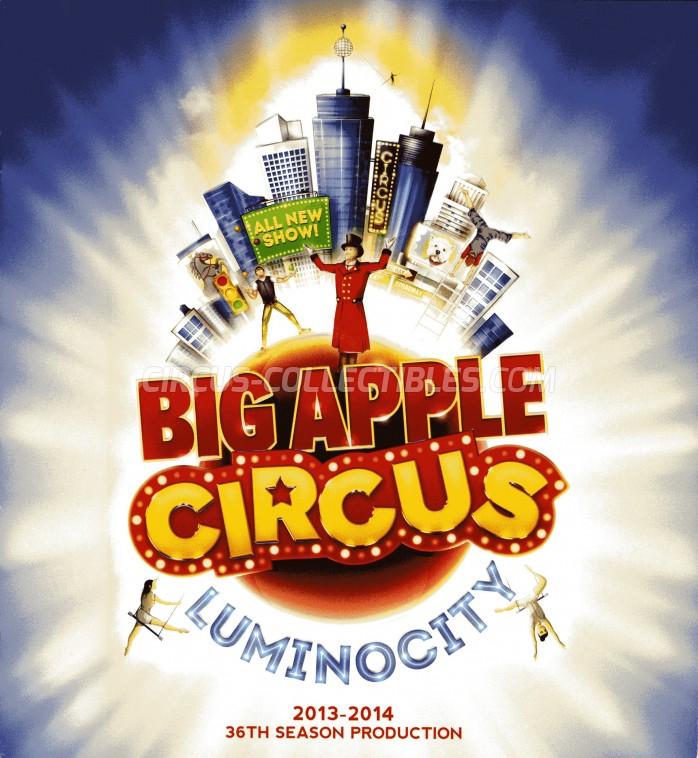 Big Apple Circus Circus Program - USA, 2013