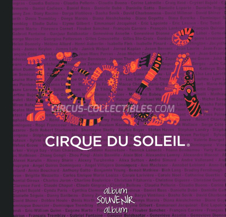 Cirque du Soleil Circus Program - Canada, 2007