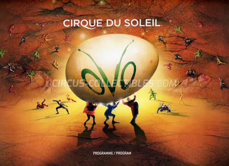Cirque du Soleil Circus Program - Canada, 2009