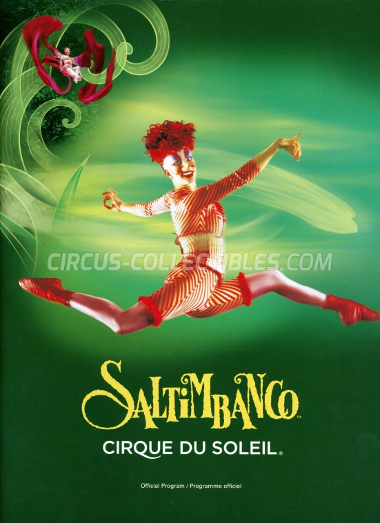 Cirque du Soleil Circus Program - Canada, 1992