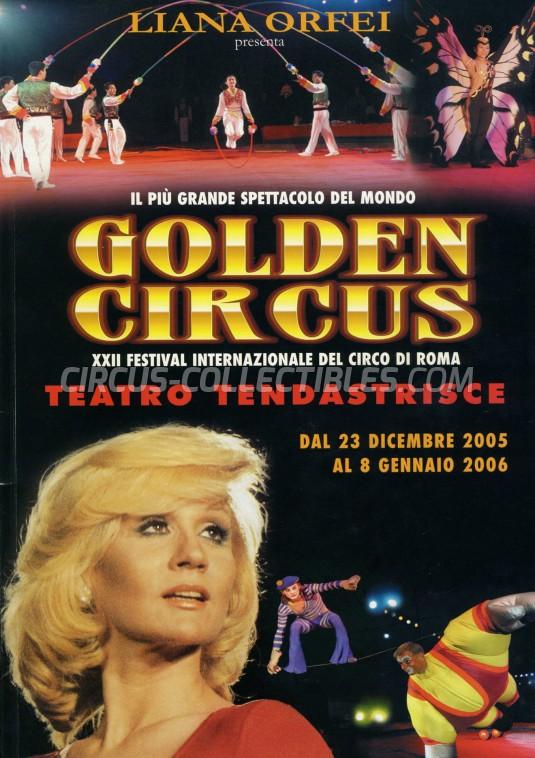 Liana Orfei Circus Program - Italy, 2005