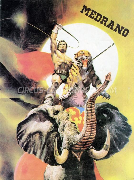 Medrano (Casartelli) Circus Program - Italy, 1984