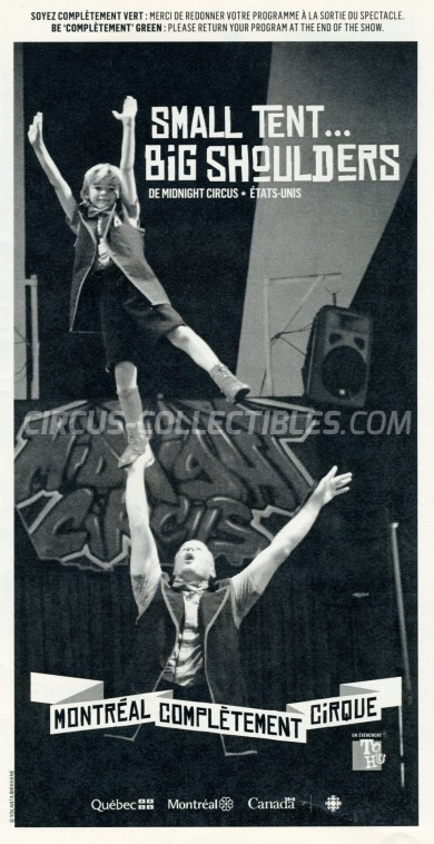 Midnight Circus Circus Program - USA, 2014