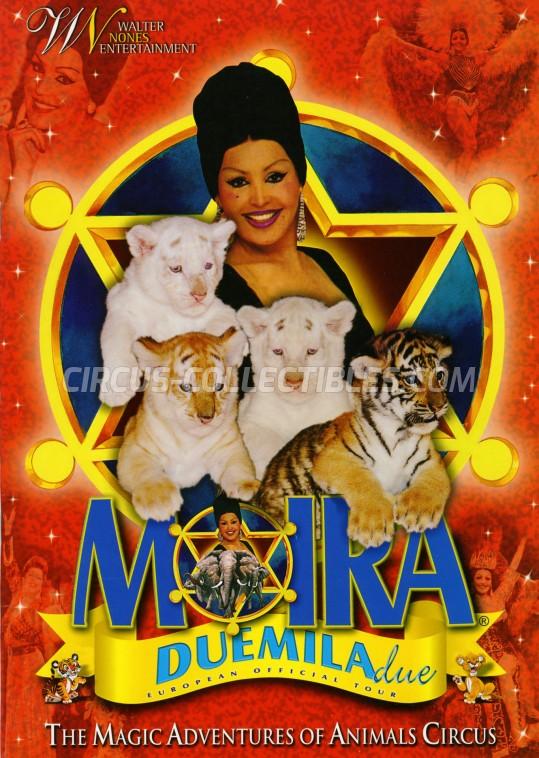 Moira Orfei Circus Program - Italy, 2002
