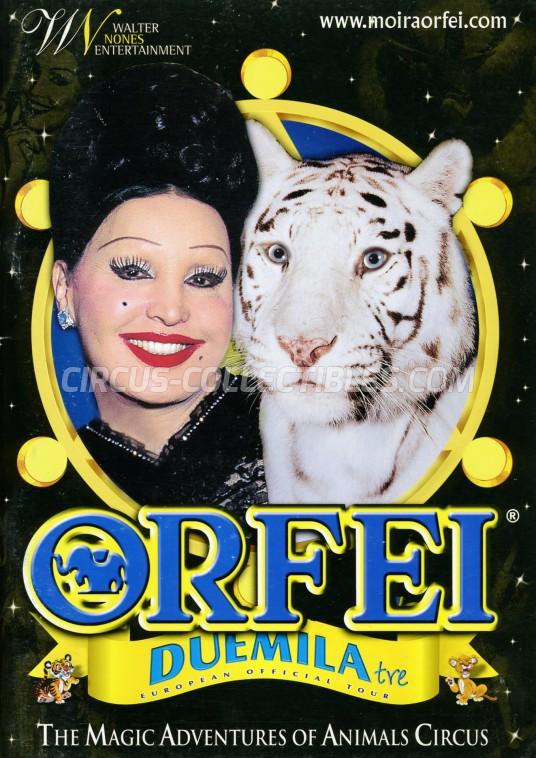 Moira Orfei Circus Program - Italy, 2003
