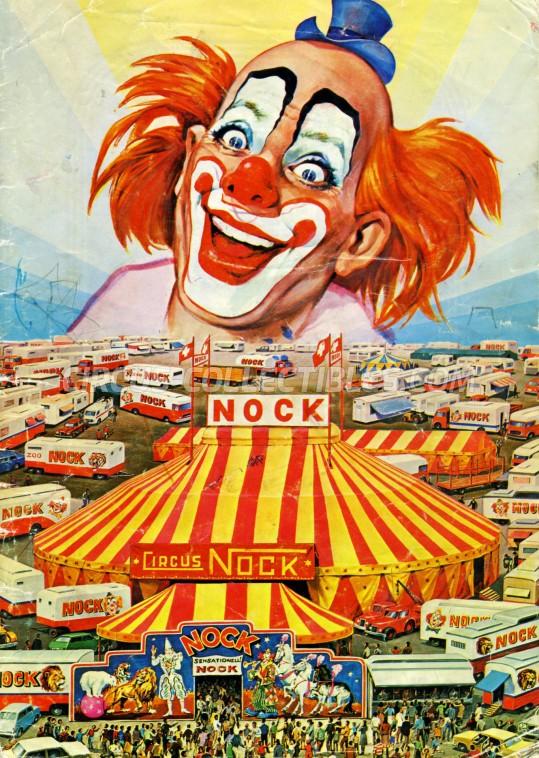Nock Circus Program - Switzerland, 1980