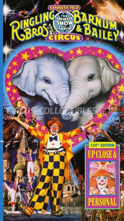 Ringling Bros. and Barnum & Bailey Circus Circus Program - USA, 1994
